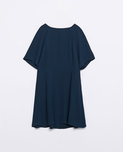 claro y distintivo disfruta de precio barato comprar bien Zara vestido azul marino | Azul Marino | Vestidos azules ...