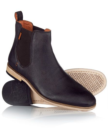 Shop Superdry Mens Meteor Chelsea Boots in Dark Brown. Buy now with free  delivery from the Official Superdry Store.