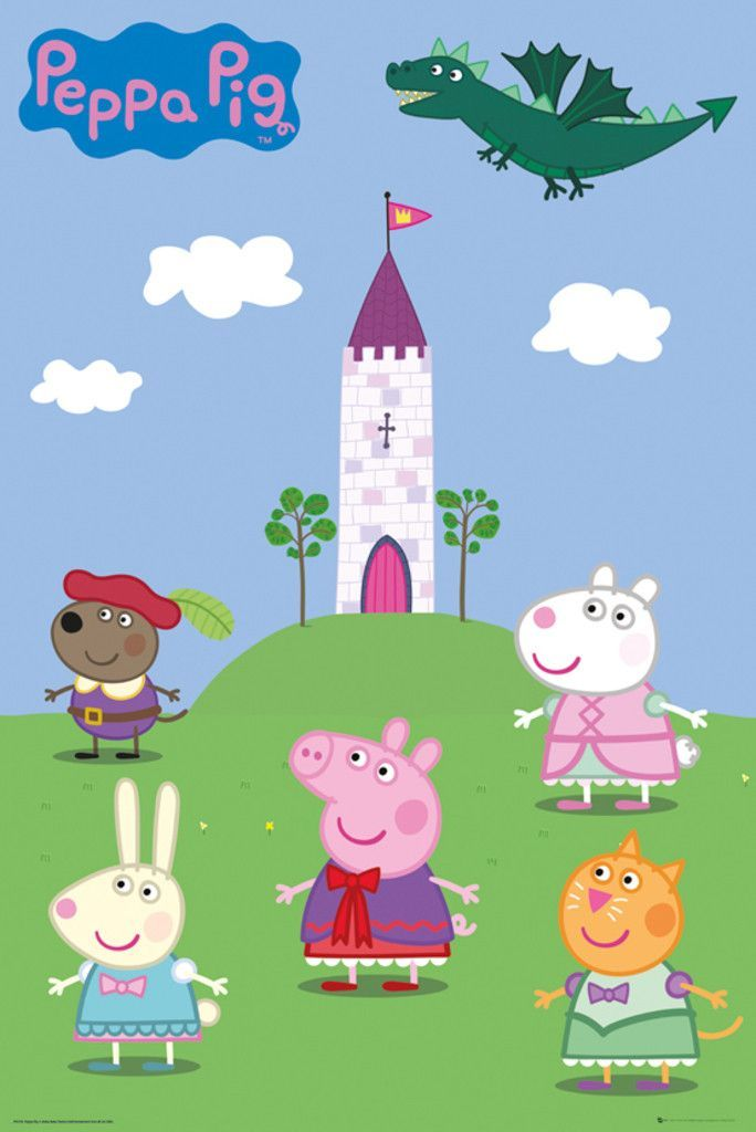Peppa Pig Cast : peppa, Peppa, Movie
