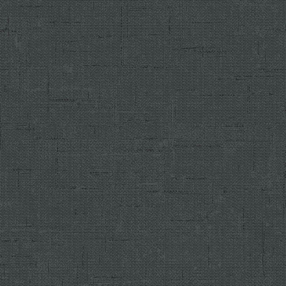 Tempaper Burlap Charcoal Self Adhesive Removable Wallpaper