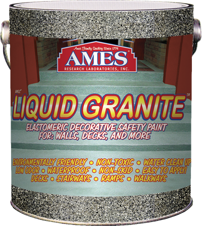 Liquid Granite 174 Is Ideal For Stairways And Walkways