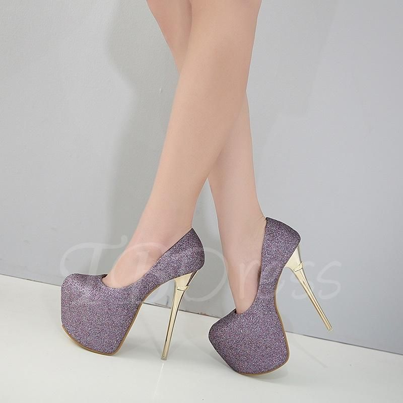 50d1756e3b3  Valentines  AdoreWe  TBDress -  TBDress Ultra High Heel Glitter Platform  Pumps Prom Shoes for Women - AdoreWe.com