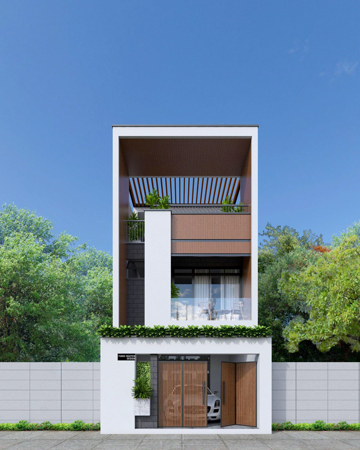 Facade House Small Modern Home Cool House Designs: Townhouse Designs, Modern House Facades, Facade House
