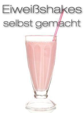 Eiweißshakes selber machen - Rezept mit versch. Varianten - fitkurs.de