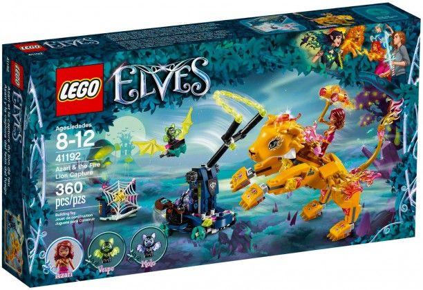 Lego Elves 41192 Azari Et La Capture Du Lion De Feu Toy Box Fire