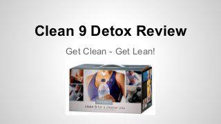 Detox diet to jumpstart weight loss