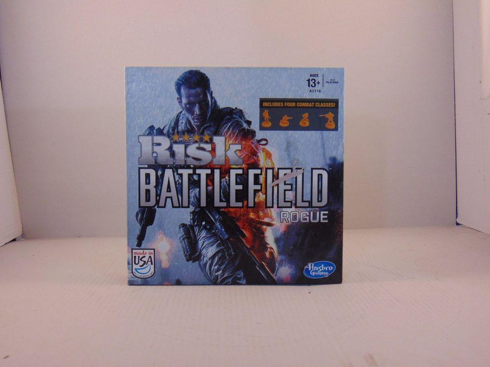 New Risk Battlefield Rogue Collector S Edition Board Game Hasbro