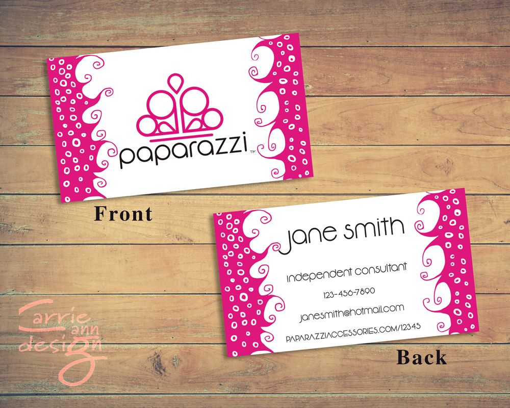 Paparazzi business card custom paparazzi accessories business card paparazzi business card custom paparazzi accessories business card fast free personalization printable business colourmoves