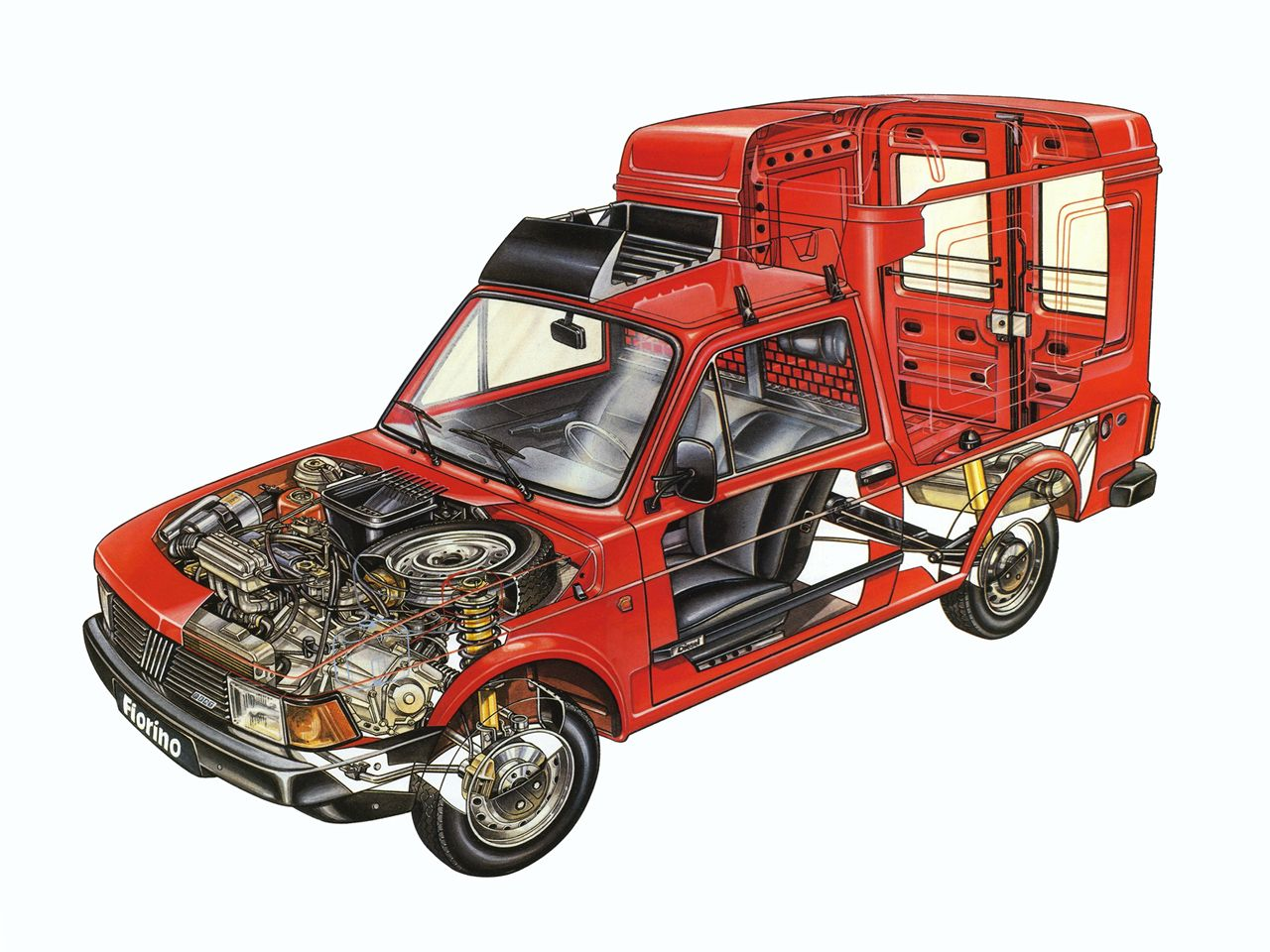 Mercedes benz 280 ge swb w460 1979 01 1990 pictures to pin - 1983 1987 Fiat Fiorino Illustration Unattributed