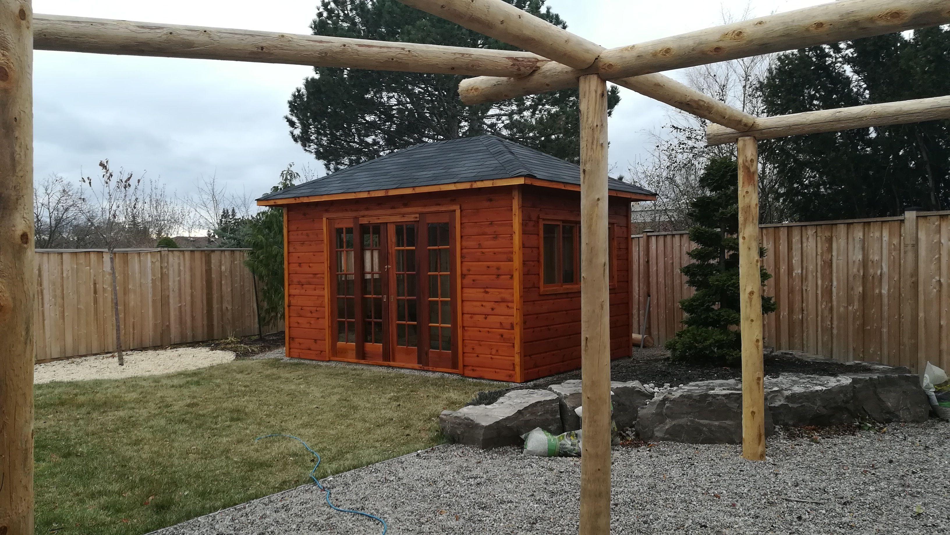 10 X 14 Sonoma Garden Shed Plan In Brampton Ontario Garden Shed Kits Shed Plans Garden Shed