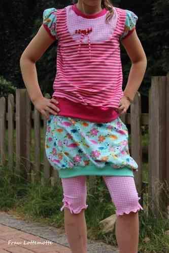 Lillestoff - Aloha Flamingo Shirt: Lina - frau liebstes