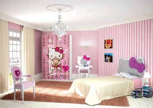 Perfect Decor For Girls, Especially Hello Kitty Fan! (hello Kitty Bedroom  Ideas,