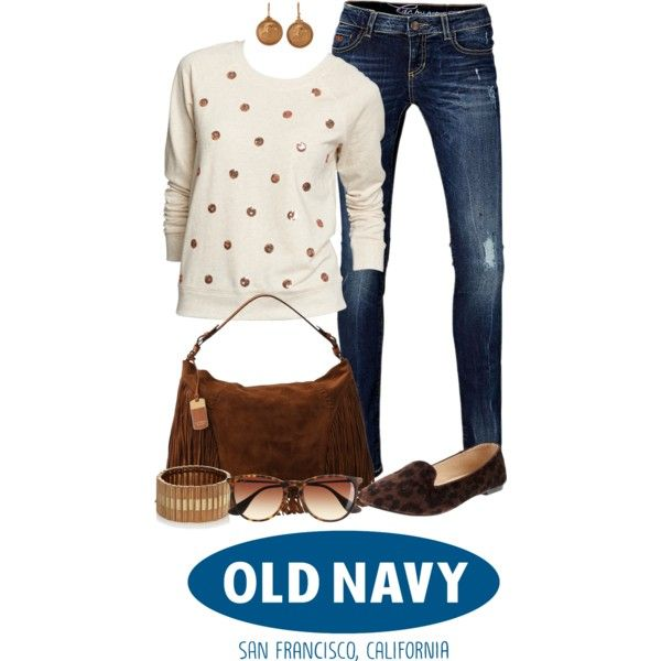 """""""Prep for Fall with Old Navy Sweaters"""" by angela-windsor on Polyvore"""