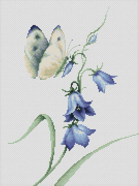 Photo of Summer Delight Butterfly Cross Stitch Kit