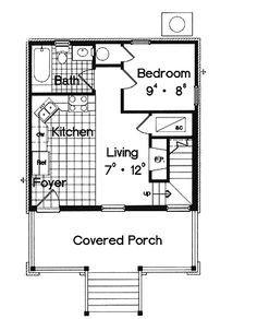 Image Result For 20 X 28 House Plans House Plans Floor Plans Craftsman Floor Plans