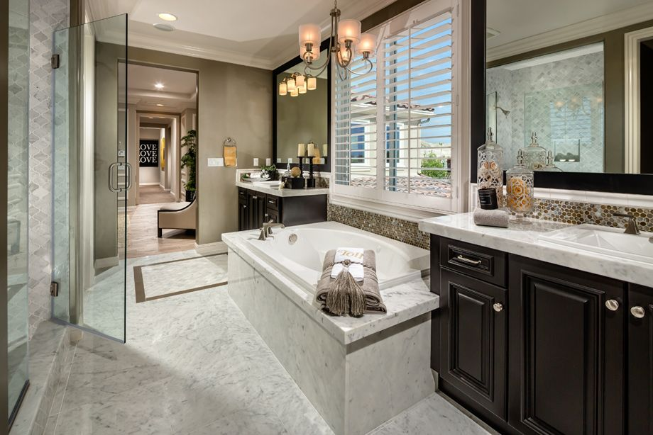 Model Home Bathrooms toll brothers - master bathroom http://www.tollbrothers/ca
