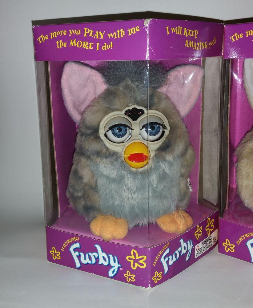 Original Vintage 1998 FURBY Lot 90's Toys Limited Edition RARE Tiger Electronics #TigerElectronics