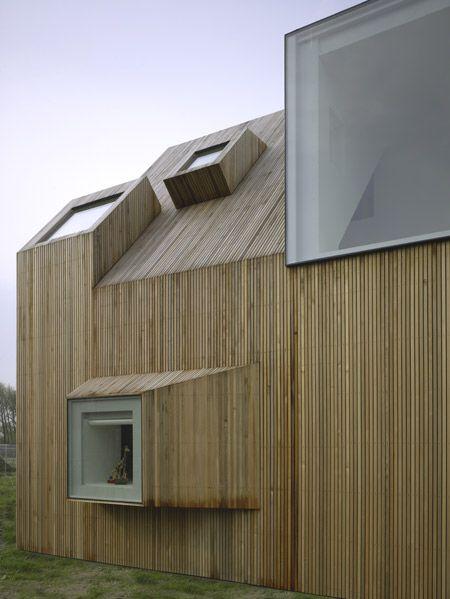 Modern Wooden House Design with Original Shape | WOODEN HOUSE ...