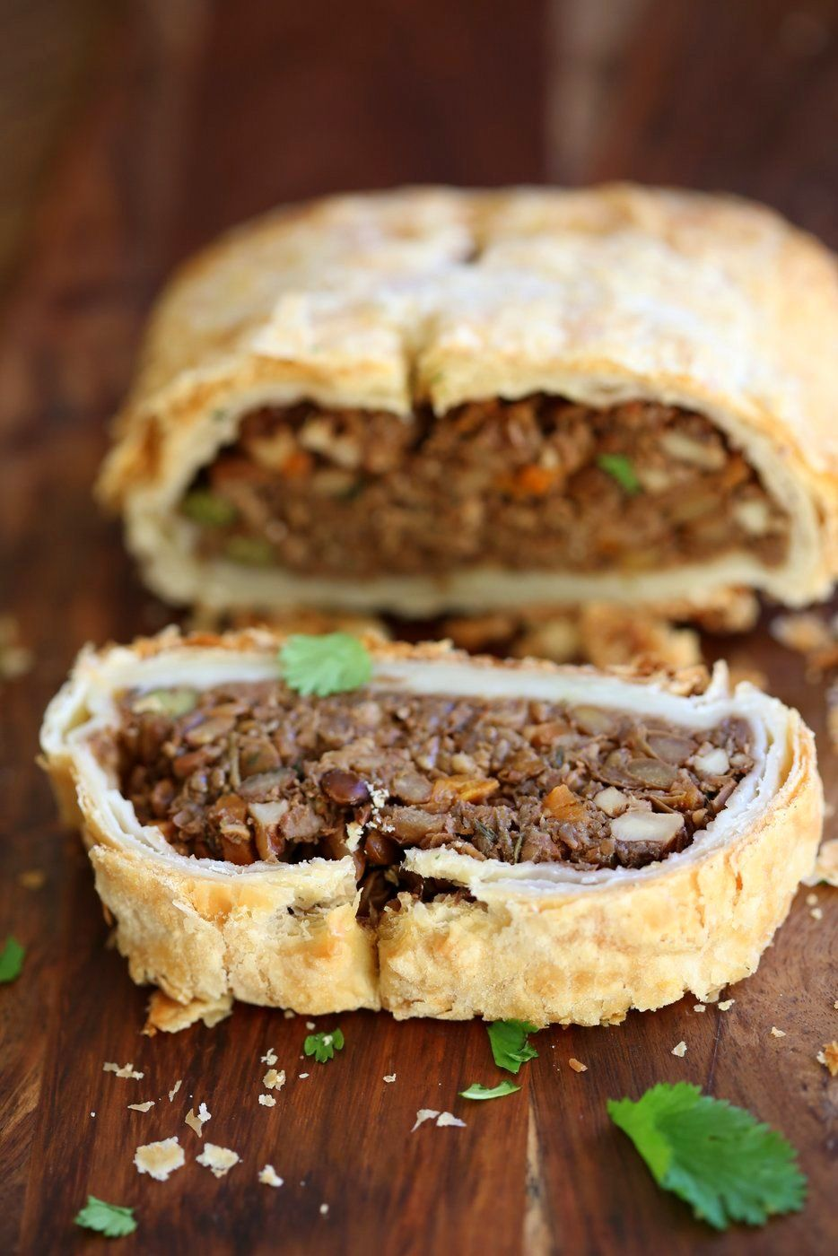 Vegan Wellington With Lentils Mushrooms Walnuts Veggies