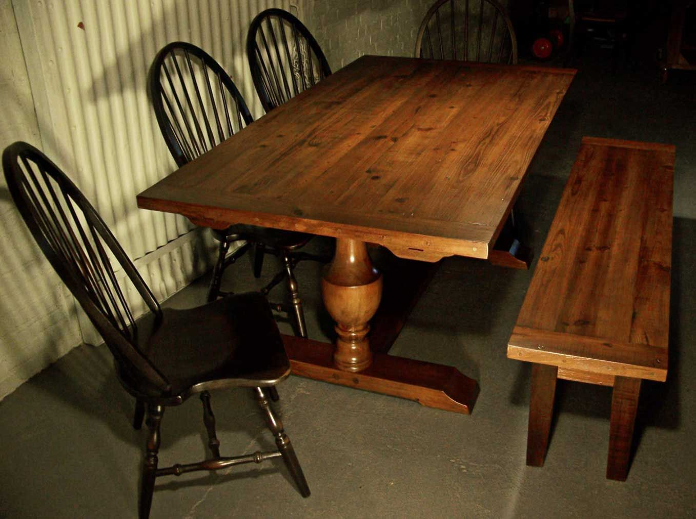 Custom Dining Tables Design Your Own Table Online Wood Trestle Table Reclaimed Wood Table Barn Wood
