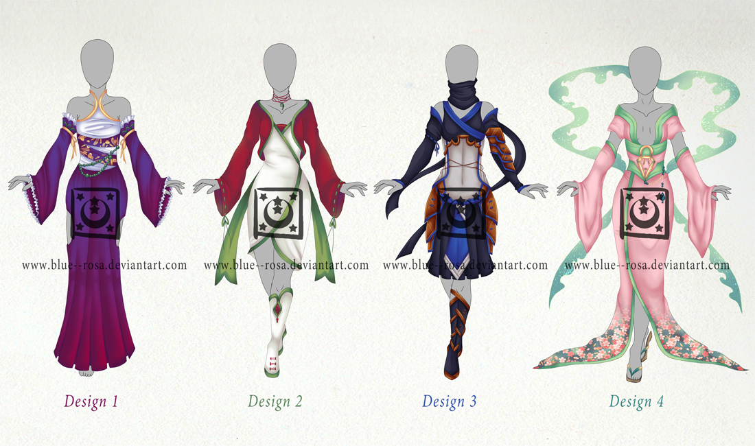 Asian Inspired Clothing Adopts OPEN by Blue--Rosa ...