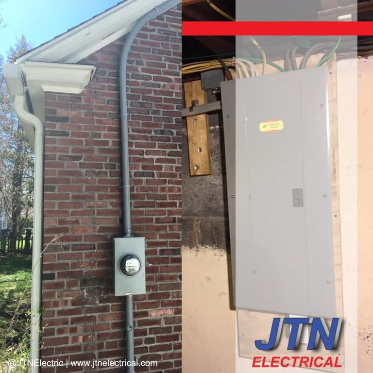 Upgrade to a 200 amp service by JTNelectric Upgrade
