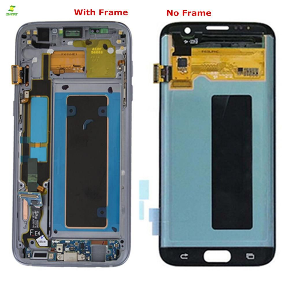 S7 Edge 5 5 Lcd For Samsung Galaxy S7 Edge Lcd Display Screen G935 G935f Lcd Touch Digitizer Lcds Assembly Replacement Parts Samsung Galaxy S7 Edge Samsung Galaxy S7 Display Screen