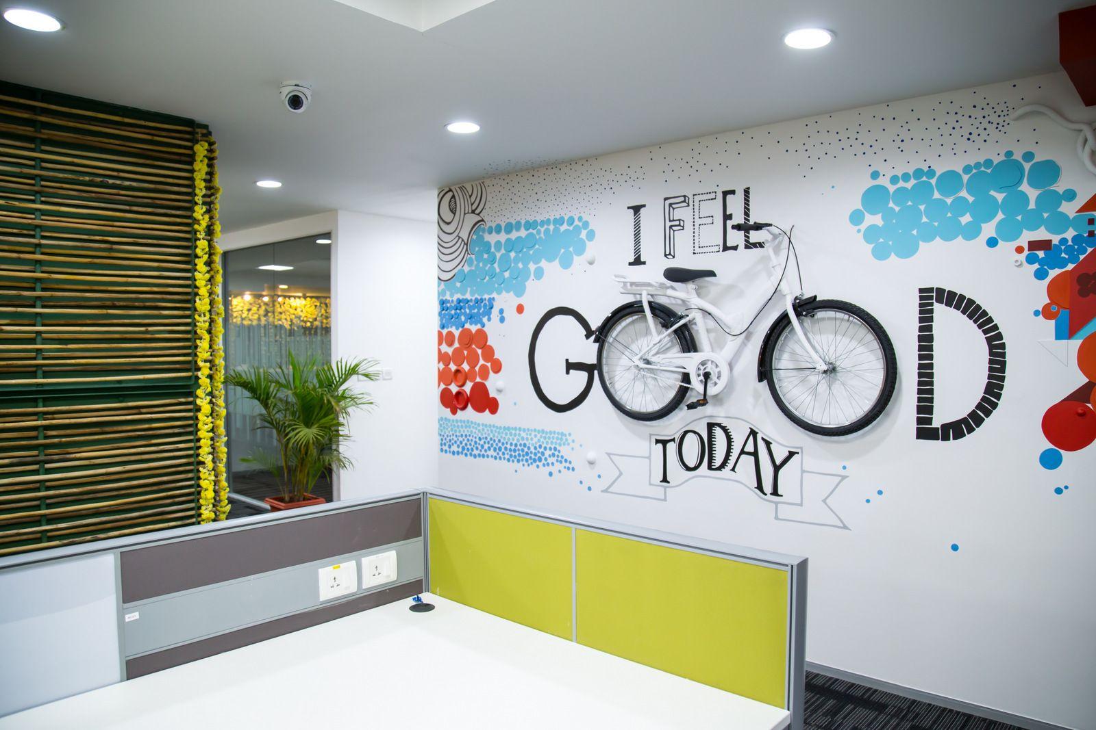 Office Tour: Freshdesk – Chennai Offices | Office wall ...