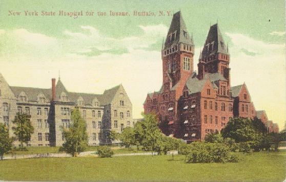 Buffalo State Hospital aka Buffalo Psychiatric Center ...