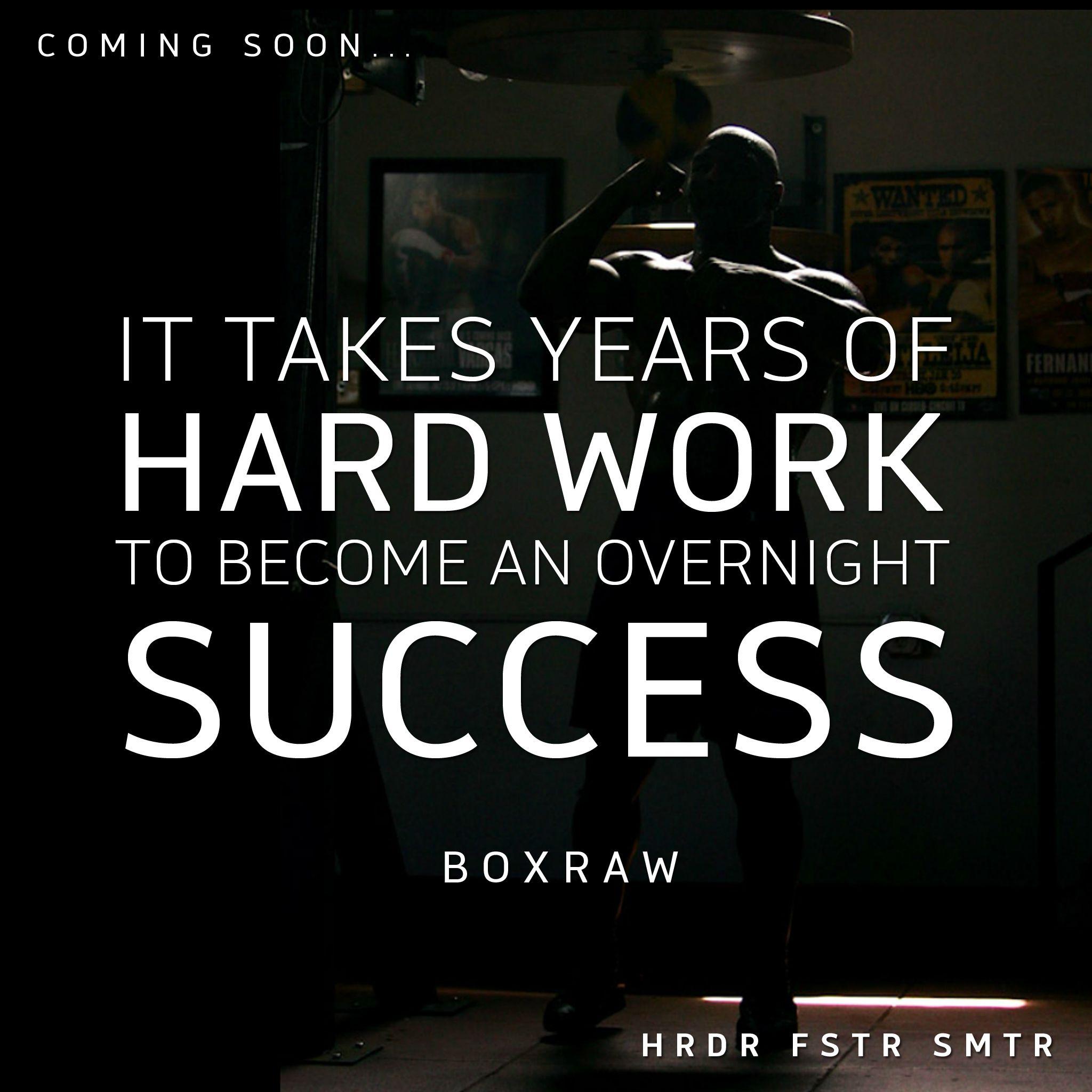 hard work, success, boxing