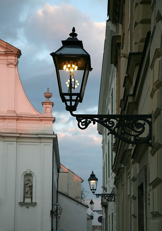 Early Evening Glow A Photo From Zagreb Inland Trekearth Street Lamp Outdoor Lighting Outdoor Lamp