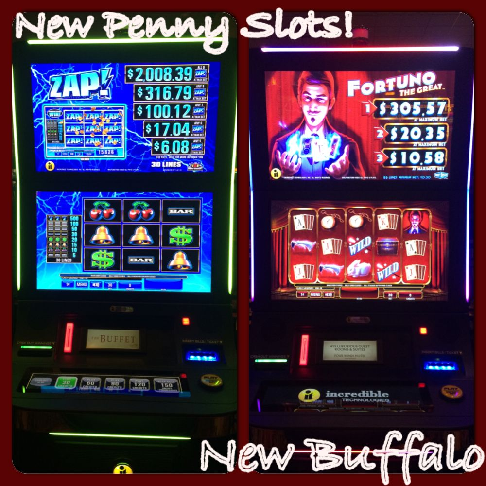 New Penny Slots at Four Winds New Buffalo! New buffalo
