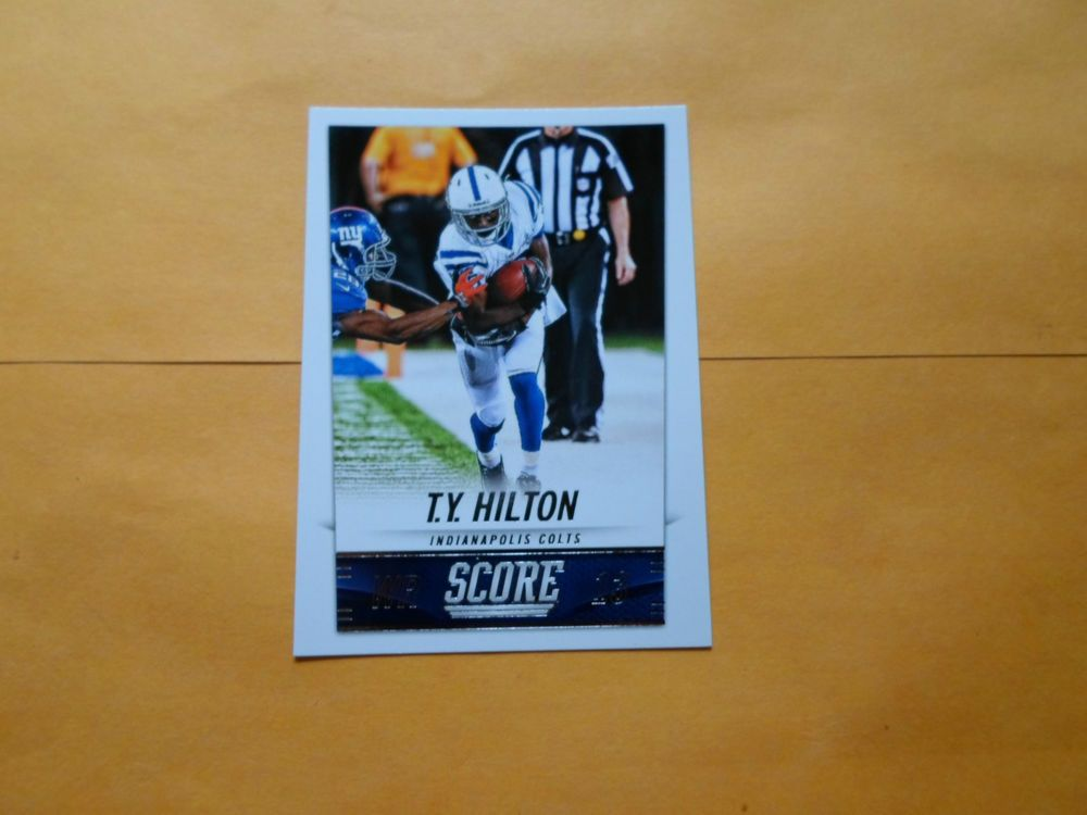 2014 SCORE BASE CARD T. Y. HILTON # 96 #IndianapolisColts