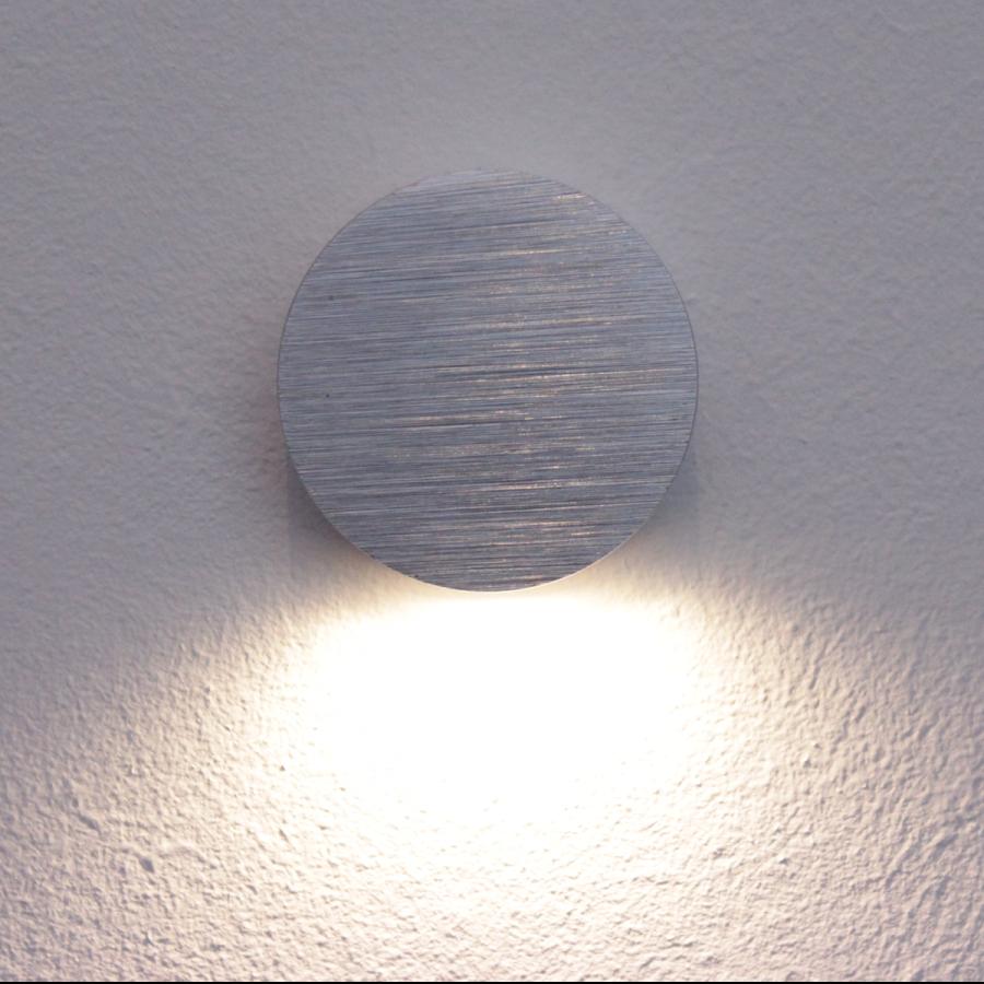 LED Treppeneinbauleuchte rund, Lichtauslass unten, warm-weiß (3000K ...