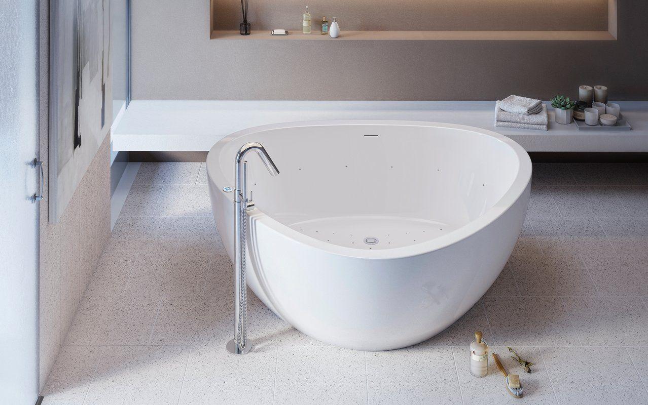Aquatica Trinity G Wht Relax Acrylic Air Massage Bathtub High