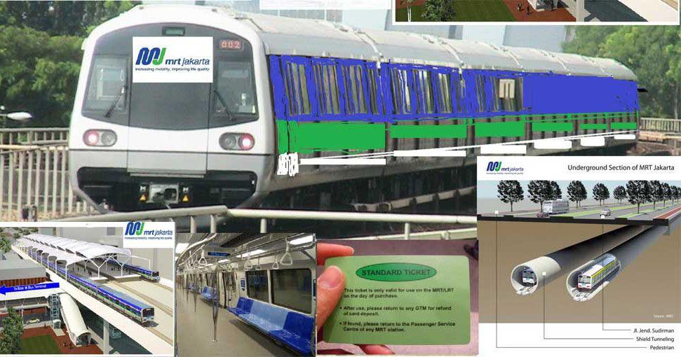 Dengan Adanya Pembangunan Transportasi Massal Mass Rapid Transit