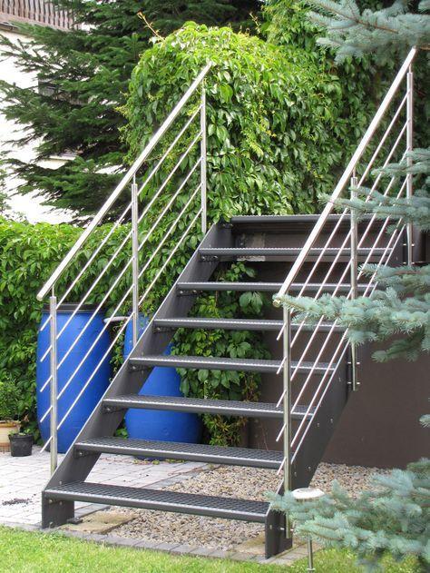 Best Aussentreppe Aussentreppe Treppe Außen Terrassen Treppe 400 x 300