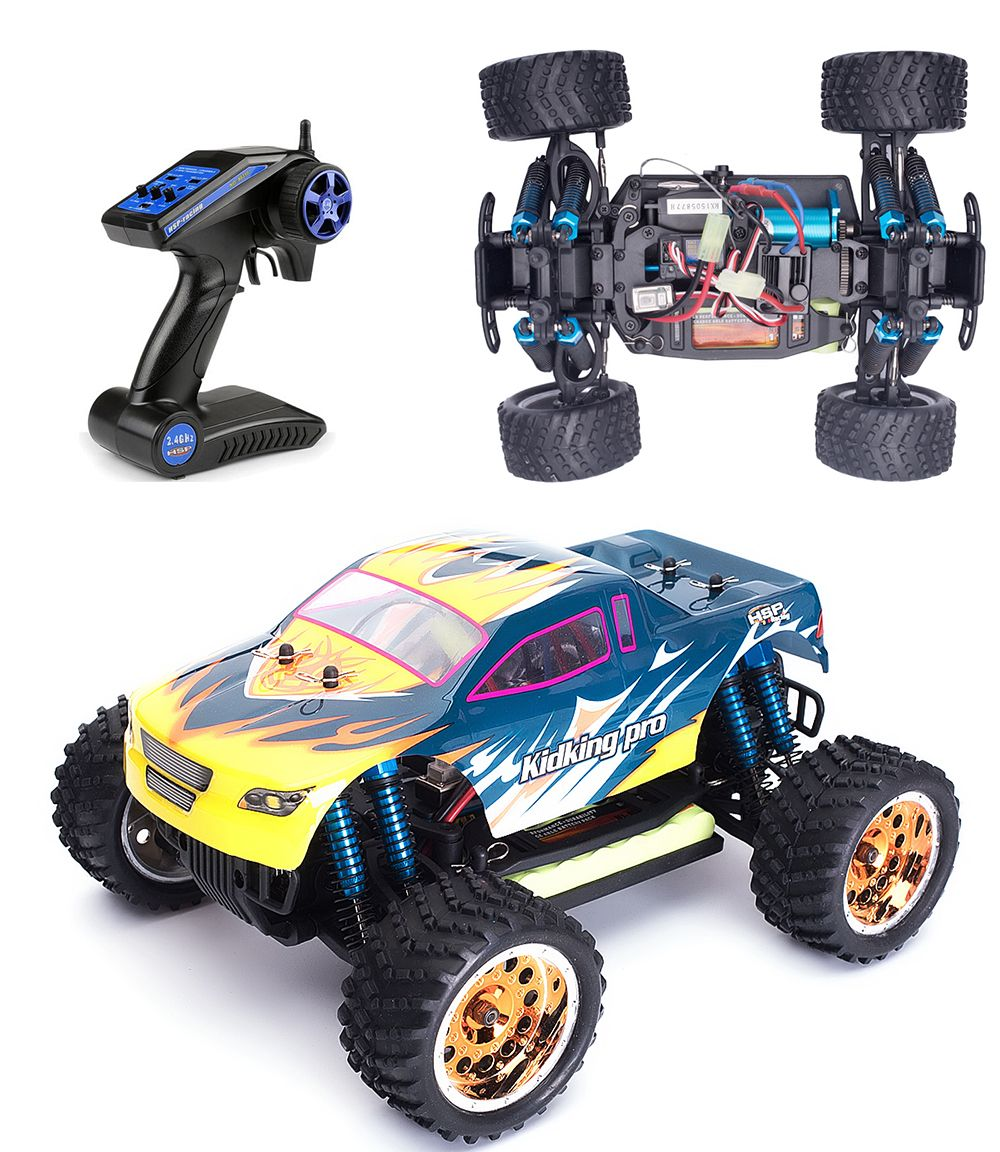 Hsp remote control car 1 16 scale brushless rc car electric power off road monster