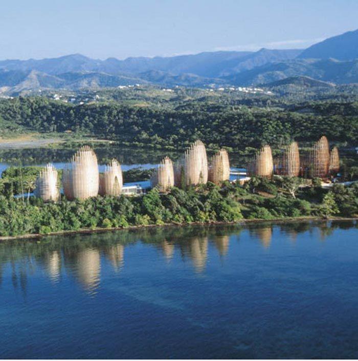 Centro Cultural Jean Marie Tjibaou Nueva Caledonia – Renzo Piano