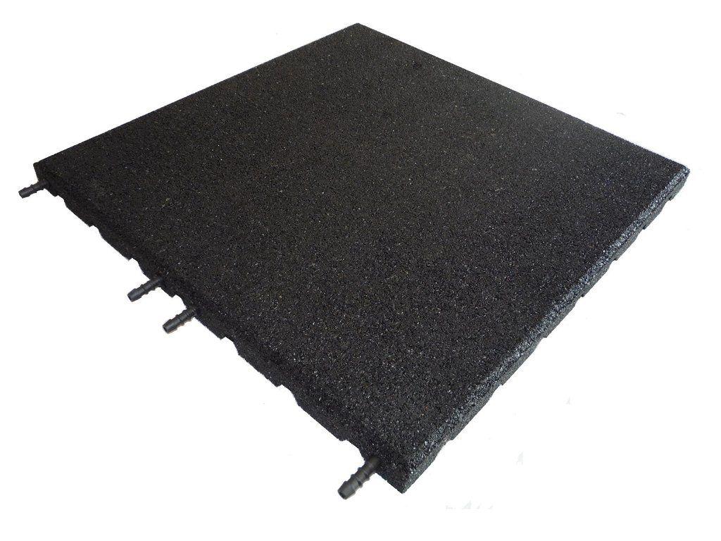 Castleflex Interlocking Rubber Promenade tiles, for use on