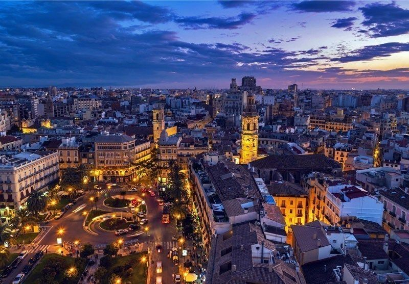 Aerial View Of Valencia At Sunset 10 Best Places To Visit In Spain