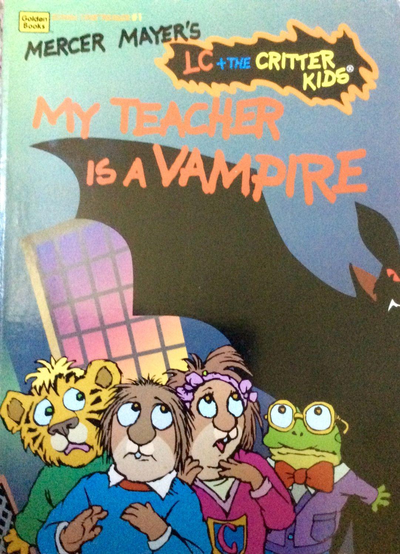 Mercer Mayer's Critter Kids My Teacher Is A Vampire by Lonestarblondie on Etsy