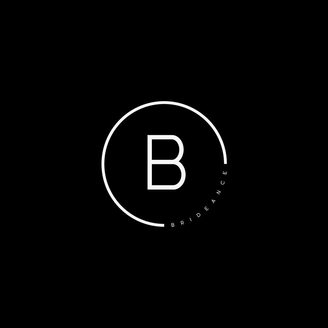 Photo of Custom Small Business Brand Icon for Brideance Bridal Health Coaching by Whiskey…