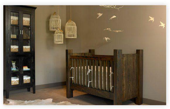 Bird Cages Feature Neutrale Babyzimmer Babybetten Babyzimer