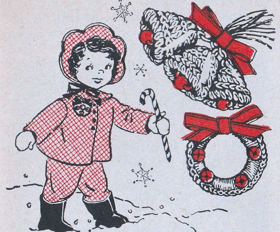 Crochet Christmas Bells and Wreath Pins Pattern by thegemreaper (With images)   Christmas ...