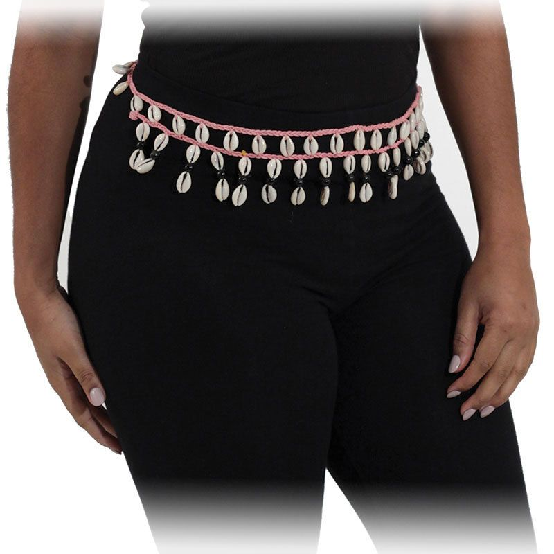 Cowrie Shell Rope Belt by KellyzCouture on Etsy