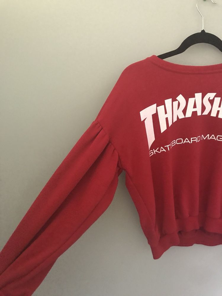 Thrasher hoodie women red AUTHENTIC100% BRAND NEW UNIQUE  fashion  clothing   shoes  accessories  womensclothing  sweaters  ad (ebay link) 50b6be2b8