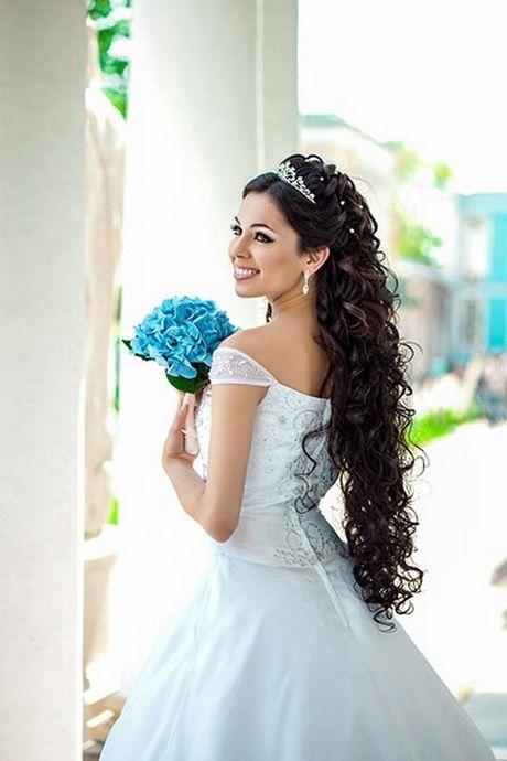 Frisuren Hochzeit Lange Haare Offen Brautfrisuren Pinterest