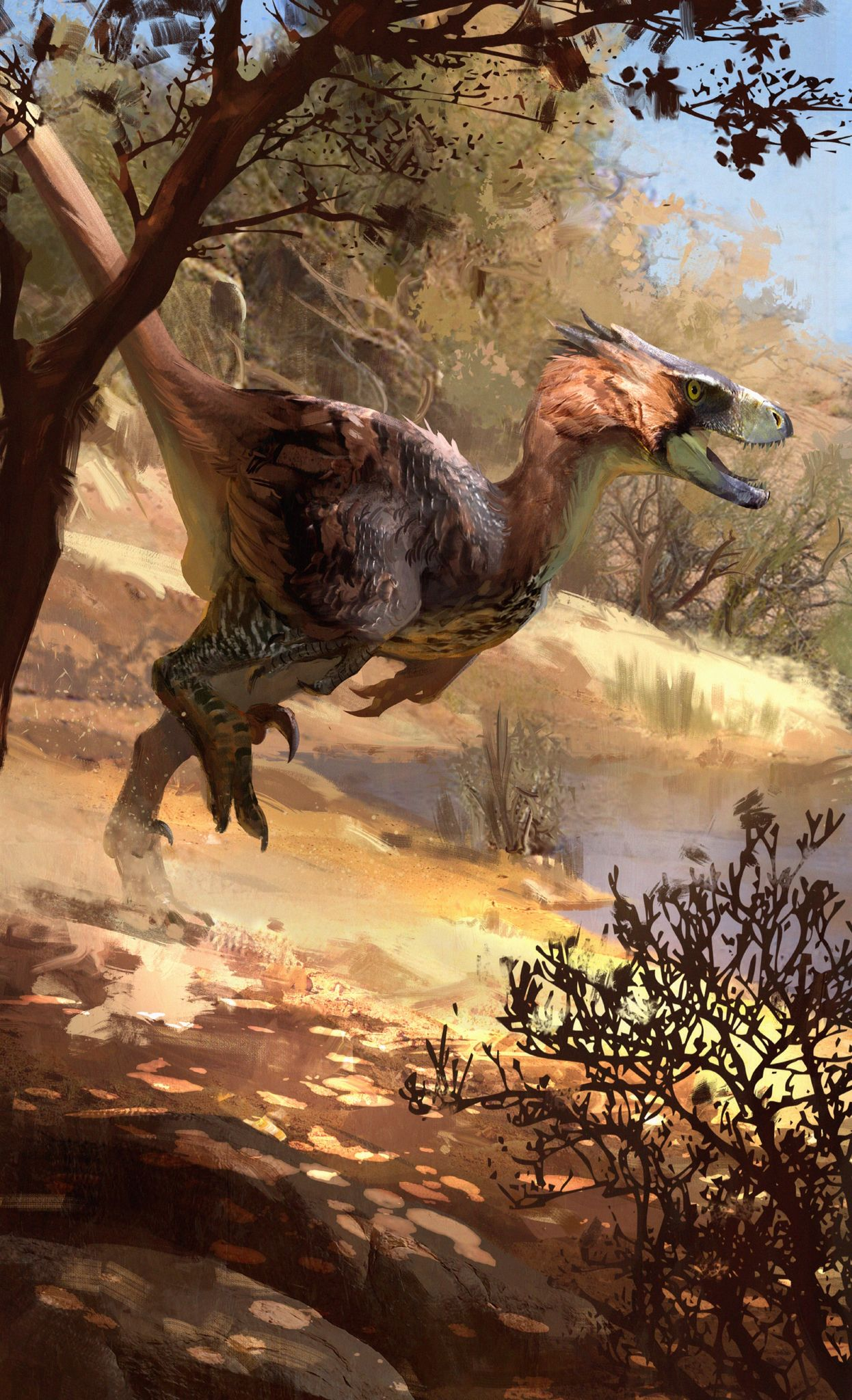 Raptor by Jonathan Kuo part of the Beasts of the Mesozoic: Raptor ...