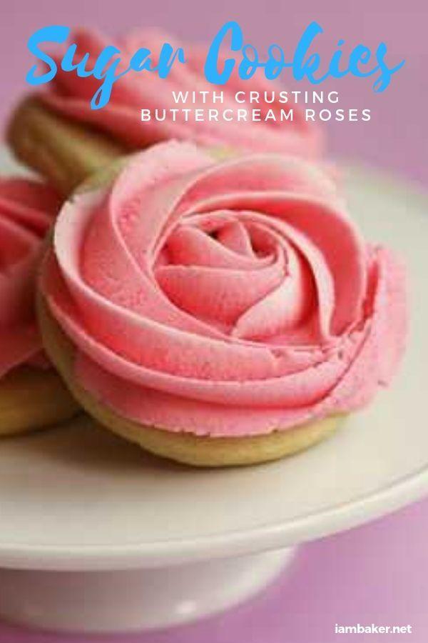 Rose Cookie Tutorial   i am baker